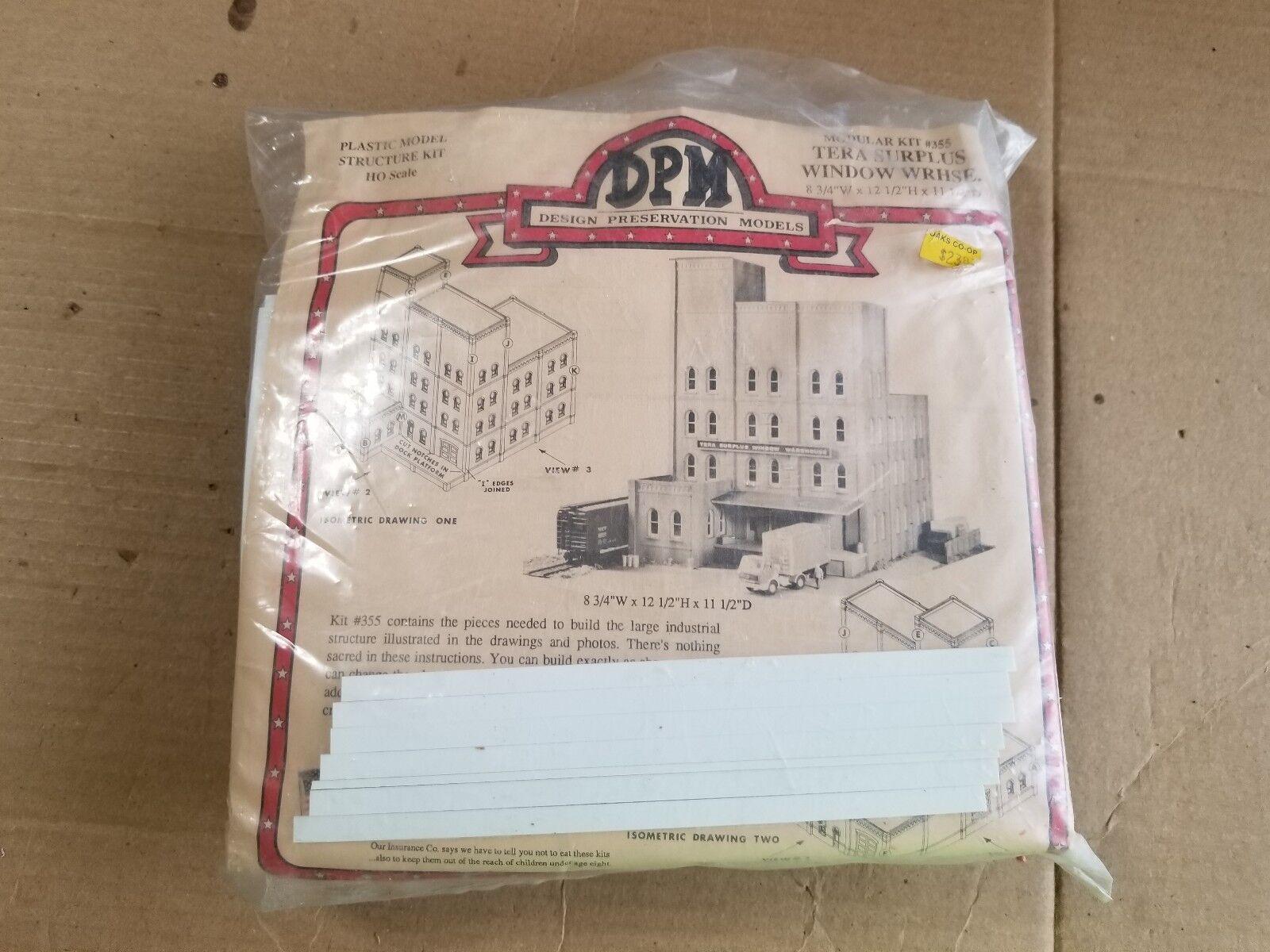 DPM HO Tera Surplus Window Warehouse