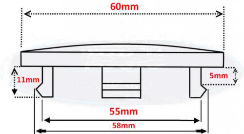 Set of 4 Pcs Wheel Center Hub Centre Caps 60mm
