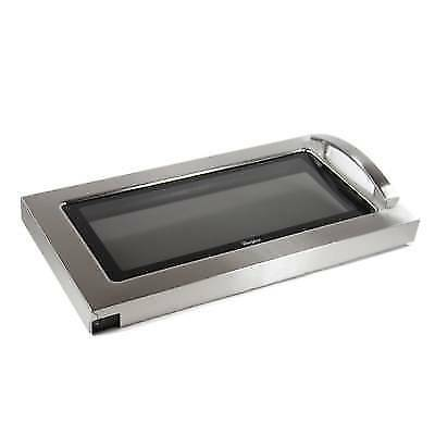 NEW Whirlpool Microwave Door Stainless Steel W10247773 New In Box FSP