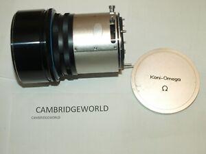 KONI OMEGA  180mm F4.5 HEXANON TELEPHOTO LENS also fits RAPID OMEGA