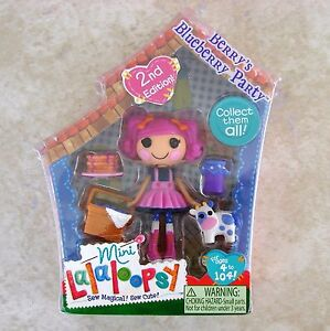 Berrys-Blueberry-Party-Mini-Lalaloopsy-Doll-MGA-Series-6-Toy-3-Pet-Cow-Retired