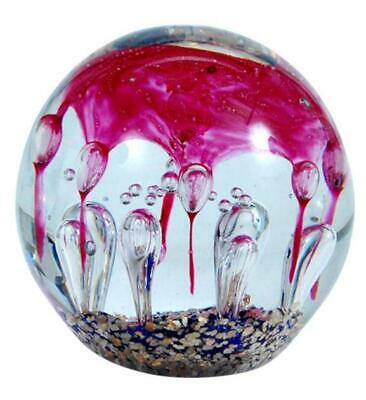 Endloser Lebensknoten rot aus Glas,handgeblasen,tolle Deko,handgefertigt,NEU