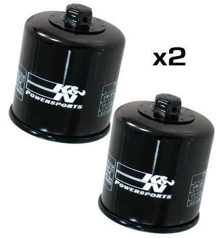 2x k/&n Filtre à huile-Suzuki GSXR600 K7 2007 KN138