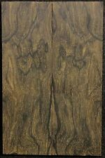 Ziricote x Knife Scales x Cut Slab x Rare x With Mostly Landscape Figured ZIKS2