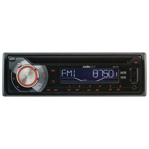 Audiopipe RAC103 In-Dash Radio AM//FM//CD//USB With Remote /& Sub Out