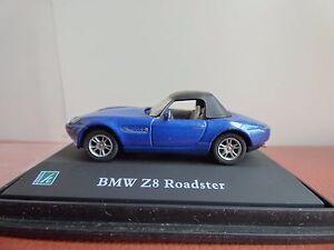 Hongwell-Cararama-BMW-Z8-ROADSTER-CABRIO-00-Gauge-Diorama-display-auto-giocattolo-1-72