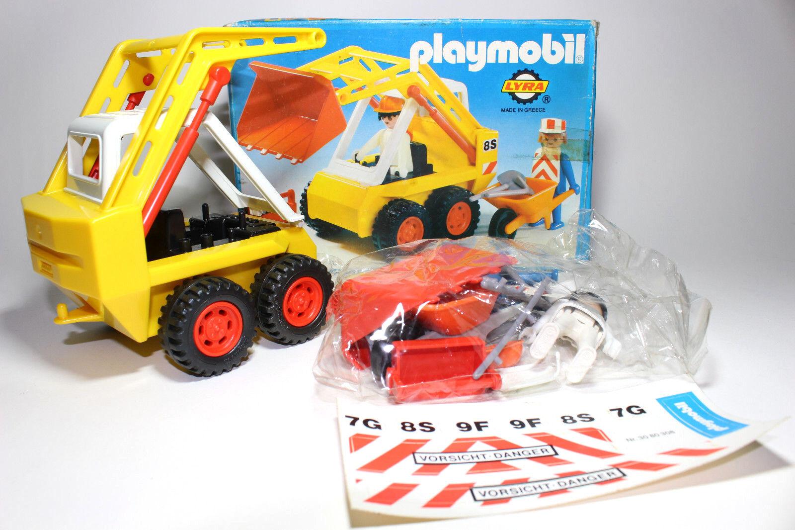 MYCKET RARE Bulldozer spelabilen Nr 3507 LYRA GREKLAND 1980 Ekonsthworkers SEALD BAG