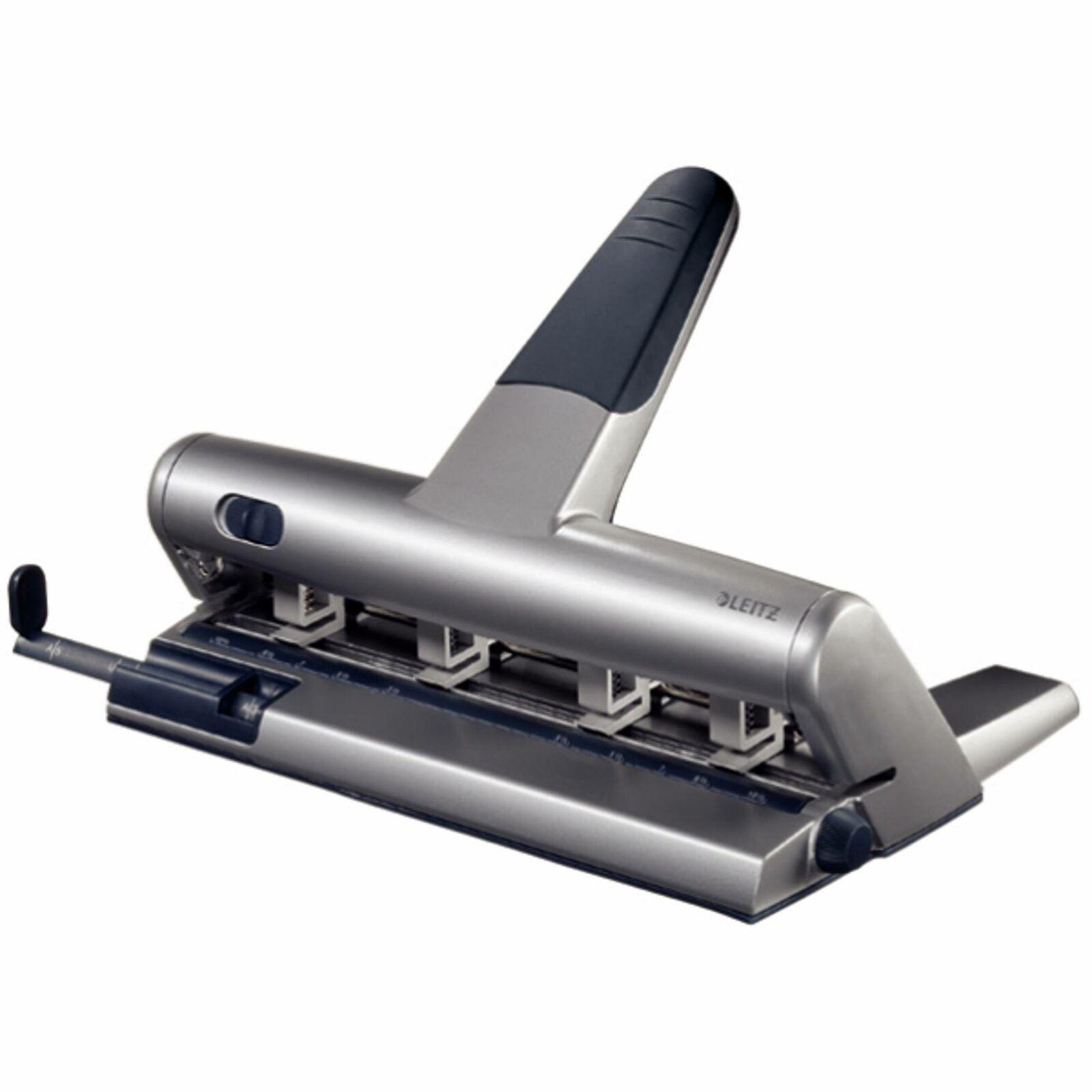 Mehrfachlocher Leitz 5114 AKTO, 30 Blatt, silber | Feinen Qualität  | Neuer Stil  | Großartig