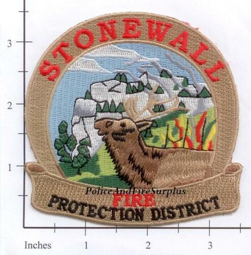 Stonewall Fire Protection District CO Fire Dept Patch   Elk Colorado