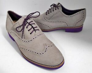 Cole Haan 9.5M Gray Suede Leather