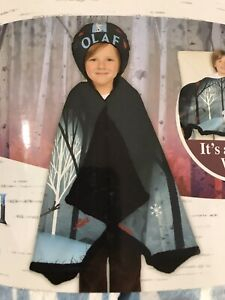Disney/'s Frozen II Olaf Snuggle Wrap Hoodie Blanket