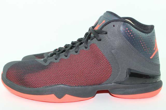 Jordan Super.fly 4 PO Uomo Size 10.5 Infrared 23 New Basketball Authentic Rare