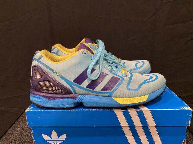 Size 9 - adidas ZX Flux Blue - AF6303