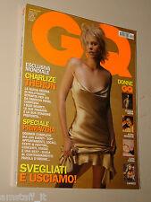 CHARLIZE THERON COVER MAGAZINE=MASSIMO POPOLIZIO=MARKO JARIC=PEDRO ALMODOVAR=GQ=