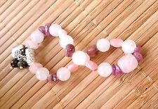 Grief Trauma Heartache Crystal Healing Bracelet Opal Tourmaline Garnet Morganite