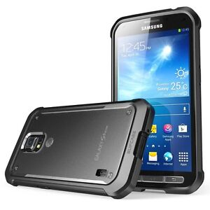 separation shoes 56be6 3840e Details about Samsung Galaxy S5 Active Case Bumper Soft Water/Shock  Resistant Clear/Black New
