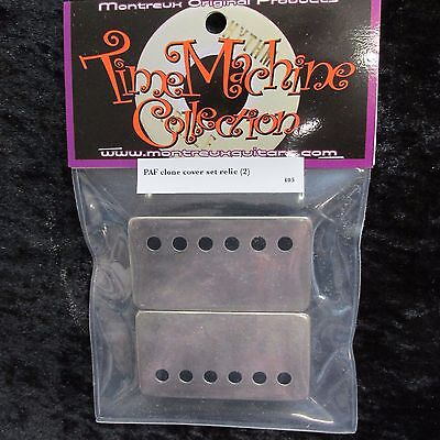Montreux Time Machine #8666 Relic M69 Humbucker Rings