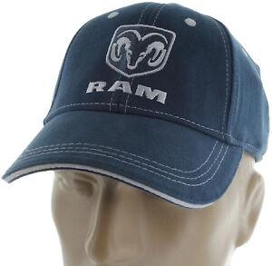 Dodge Ram 1500 2500 Blue Baseball Cap Trucker Hat Snapback Truck  e3c8c8bb1c0
