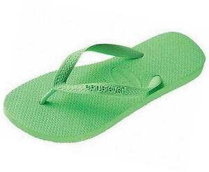 Havaianas Top Toe Post Sandals Flip Flops Spring Green UK 8 / EU43/44