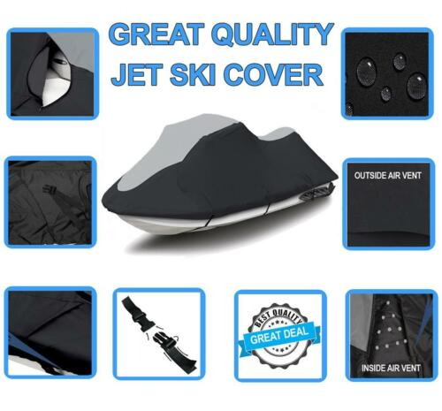 SUPER Sea Doo Spark 2up 900 ACE 2014-2020 Jet Ski PWC Watercraft Cover 2 Seat