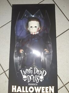 Living-Dead-Dolls-Presents-HALLOWEEN-Michael-Myers-Nib-Autographed