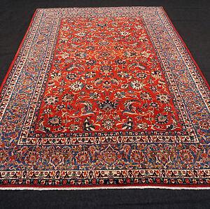 Alter Orient Teppich 330 X 225 Cm Rot Floral Perserteppich Old Carpet Rug Tapijt Spezieller Kauf