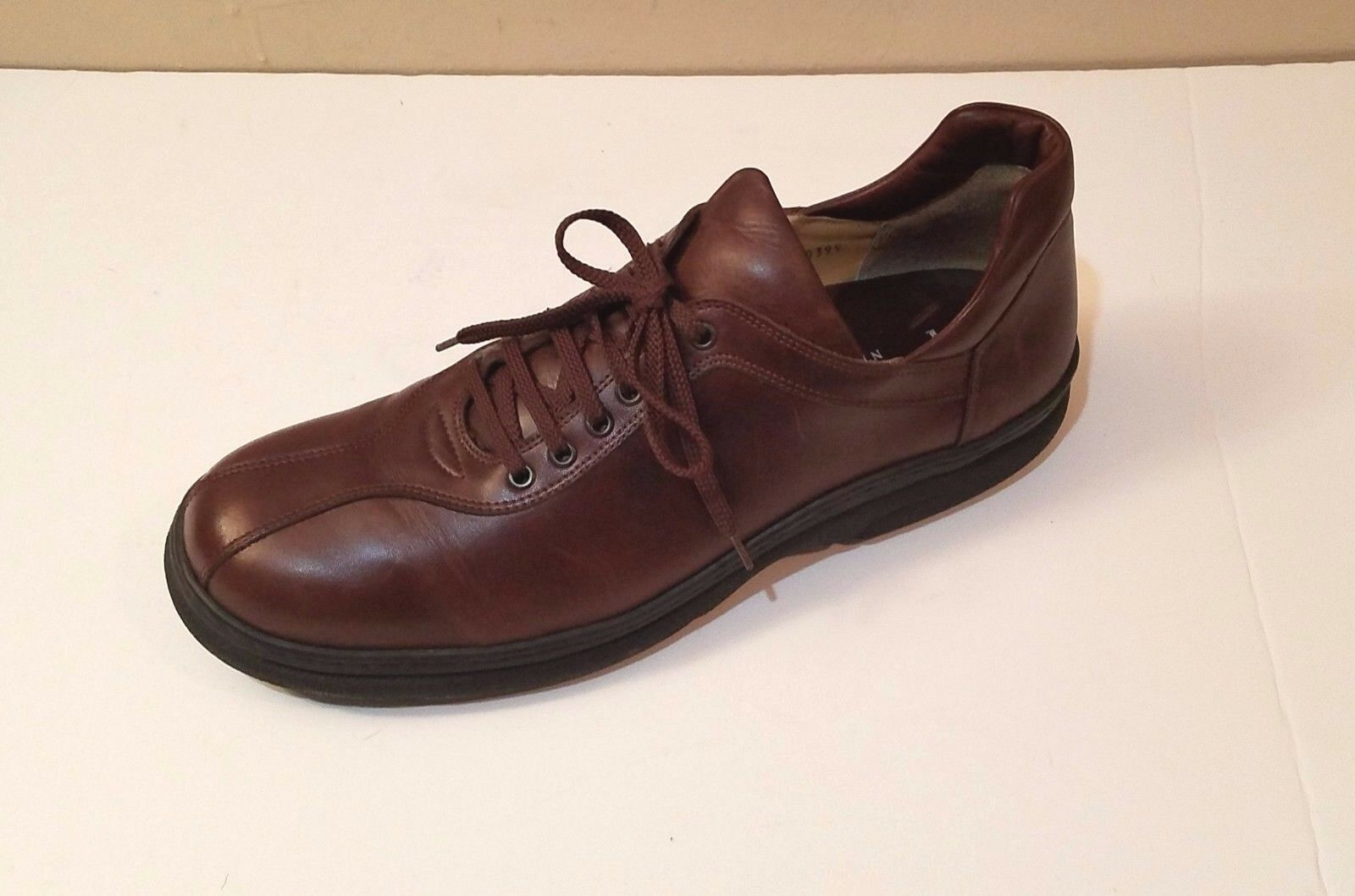 J. Fenestrier pour BARNEYS NEW NEW NEW YORK marrone Pelle Lace-Up Casual Scarpe Sz. 13 EX f1a0e4