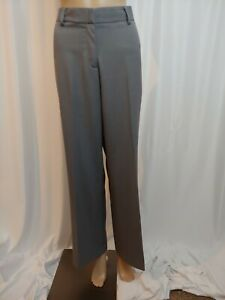 Womens Ruby Red Slacks Pants Gray Dress Trousers Office Career Size 10