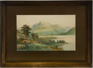 Ralph-Morley-fl-1870-1900-Framed-Late-19th-Century-Watercolour-Ben-Nevis