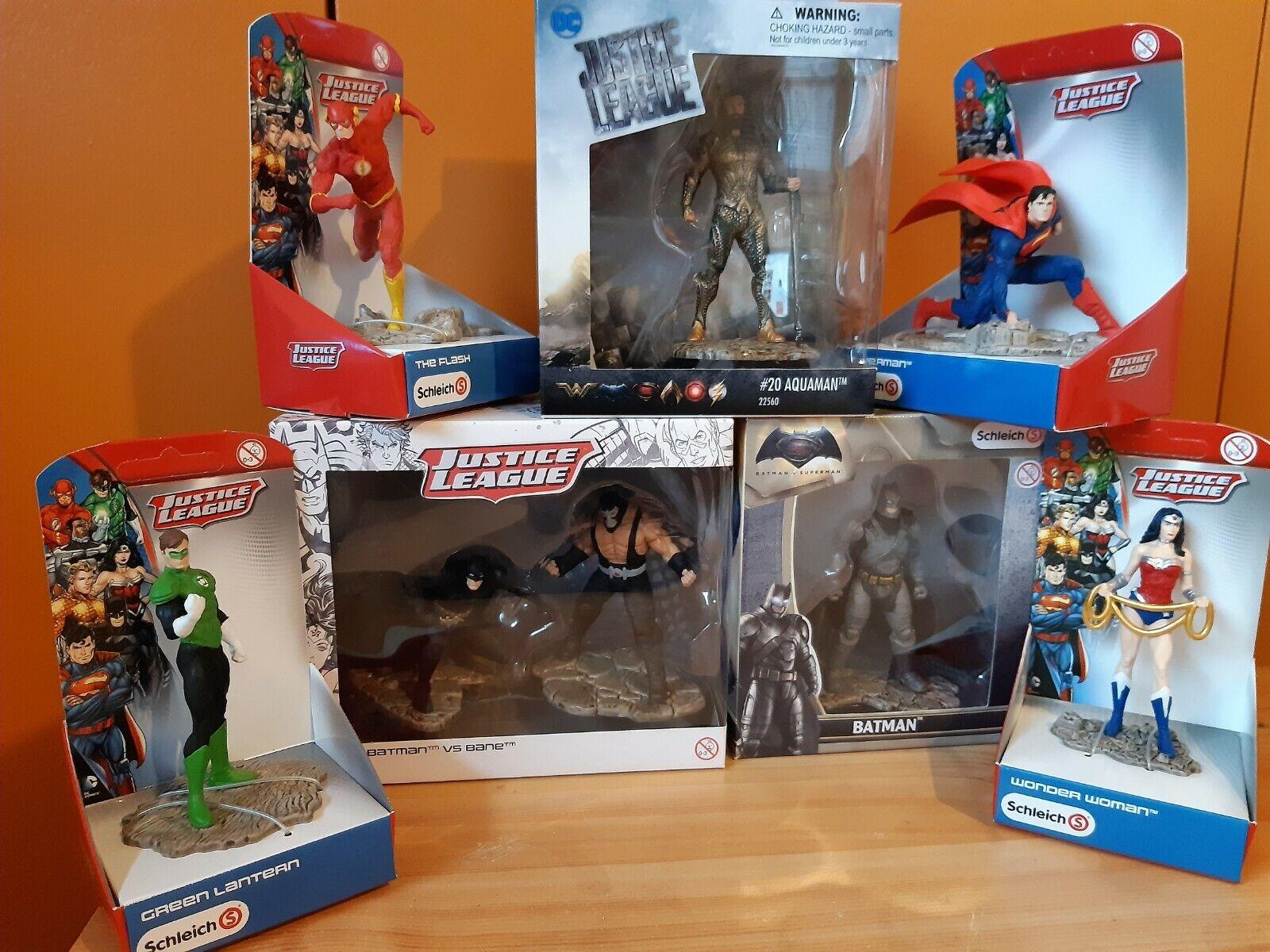 Masse 7 schleich Justice league and Batman V Superman