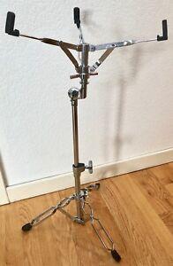 SystéMatique Vintage Snare Drum Stand Double Brace Réglable A0497-afficher Le Titre D'origine Soulager La Chaleur Et Le Soleil