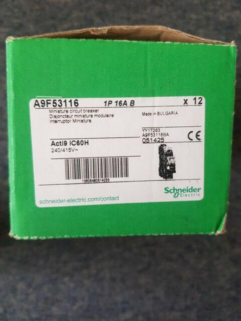 Schneider Acti 9 IC60H x12