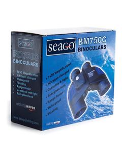 BNWT Seago BM750C Lightweight Waterproof Floating Binoculars - Sailing