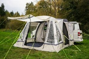 INFLATABLE-AWNING-DRIVE-AWAY-CAMPERVAN-OLPRO-LOOPO-BREEZE-SAGE-GREEN-amp-CHALK
