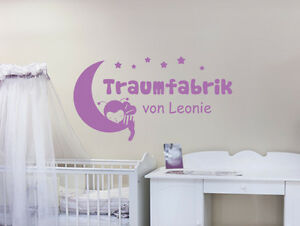 Wandtattoo Wunschname Traumfabrik Von Name Kinderzimmer