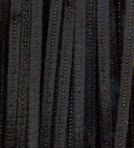 BLACK PIPE CLEANERS 25pk