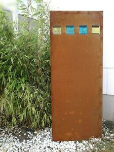 """Sichtschutz /""""Baum/"""" Breite 60 cm Edelrost H=158 cm"""