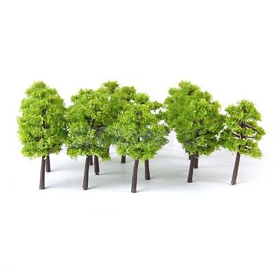 40pcs Model Tree Train Railway Wargame Diorama Garden Spring Scenery 1:250 Z