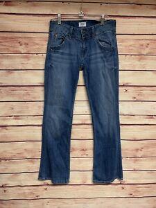 Signature W170dhk Pocket Hudson Lau Flap taglia 27 Bootcut Jeans Denim Rq7wp7