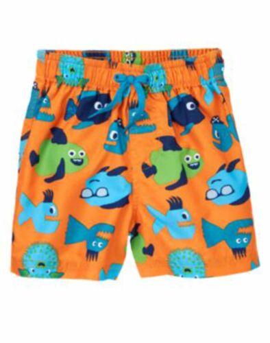 Gymboree Baby Toddler Boy Swim Trunks 3 6 12 18 24 2T 3T 4T NWT