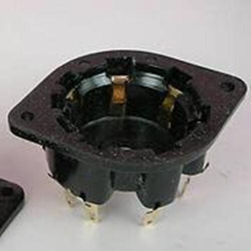 1p 8-Pin Côté Contact Tube Socket AZ1 EL1 EF6 CT8 AU8G