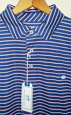 Large NWT *River Blue* Southern Tide The Skipjack Long Sleeve Polo Shirt
