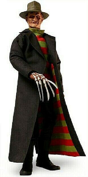 NEW Nightmare Frotdy Krueger Doll 1 6 Scale Sideshow