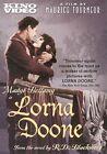 Lorna Doone 0738329041724 With Madge Bellamy DVD Region 1