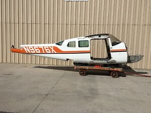 Details about Cessna 210B Fuselage Assy W/ Bill of Sale, Data Tag,  Logbooks, Airworthiness