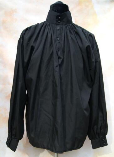Highwayman Shirt Goth Dandy Victorian Steampunk LARP GOT LOTR Poldark OBSIDIAN