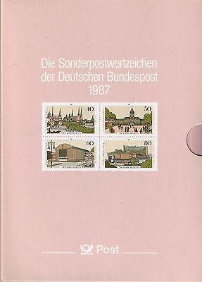 Bund Jahrbuch 1987 Komplett Postfrisch **