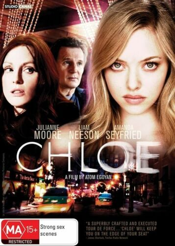 1 of 1 - Chloe DVD EX-RENTAL REGION 4, ONLY ONE DISC ONLY EXCELLENT CONDITION, FREE POSTA