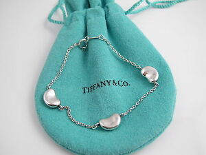 Image Is Loading Rare Tiffany Amp Co Silver Peretti 3 Bean