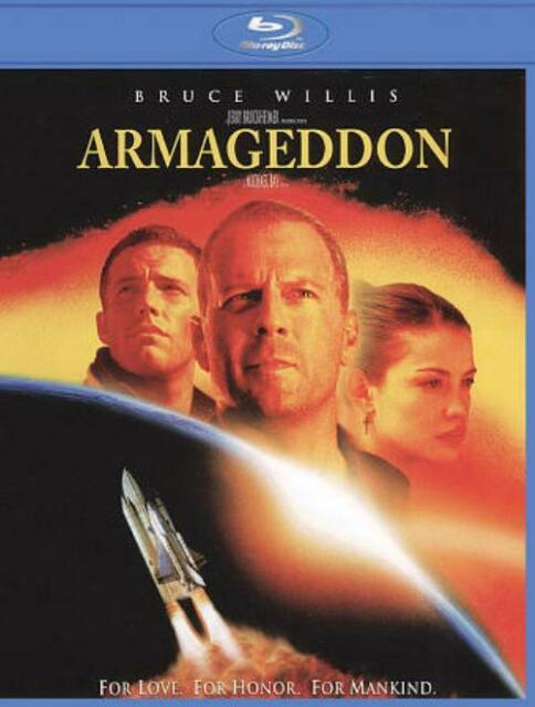 ARMAGEDDON USED - VERY GOOD BLU-RAY
